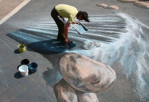 3D Street art By Edgar Mueller 3