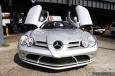 Mercedes with Lambo Doors
