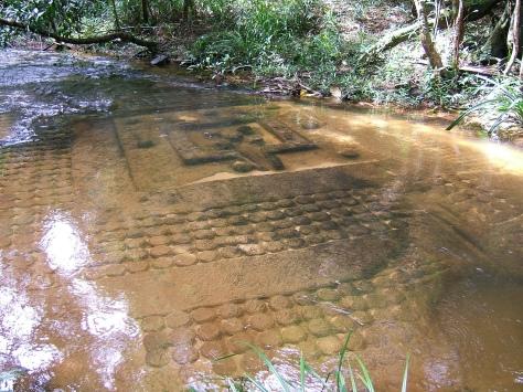 Angkor Wat River Carvings