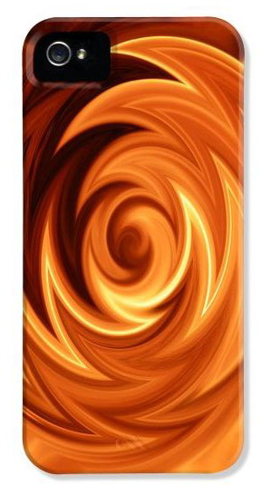 custom iphone cases - Abstract Fire