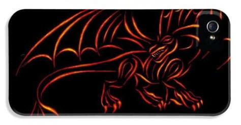 iphone 4 cases - Dragon